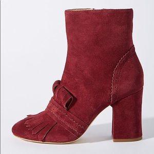 e8ba98047fc9 Anthropologie Shoes - Etienne Aigner Marina Suede Boots